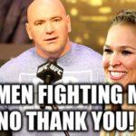 men fighting women