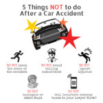 5 Things Not to do after car accident